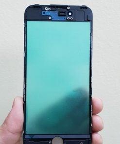 ép kính iphone 7 đen