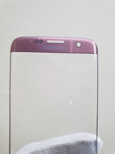 Ép kính Samsung S7 Edge hồng