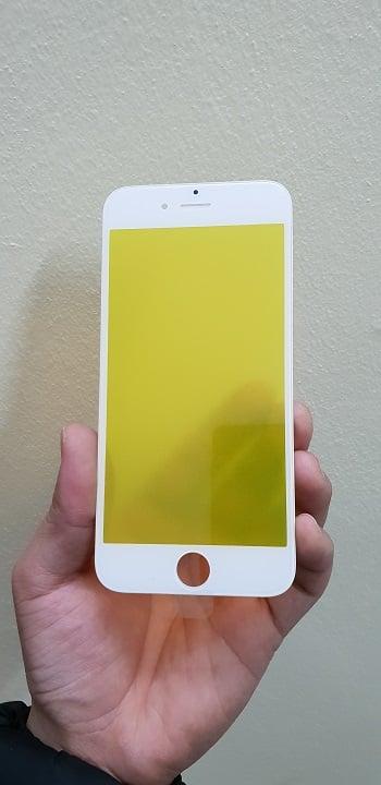 thay mặt kính iphone 6s trắng