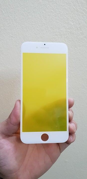 thay mặt kính iphone 8 trắng