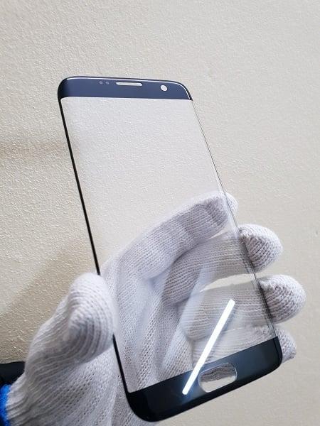 Thay mặt kính Samsung S7 Edge Hàn Quốc đen
