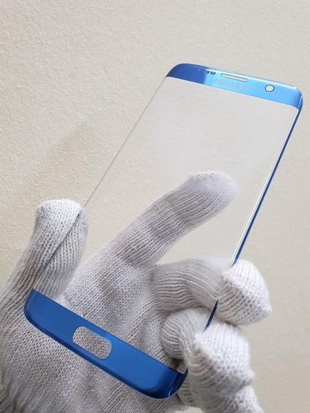 Thay mặt kính Samsung S7e Xanh Coral