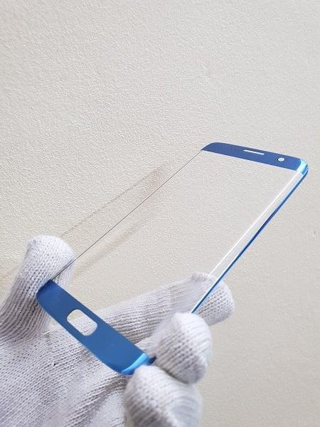 Thay mặt kính Samsung S7 Edge Hàn xanh coral