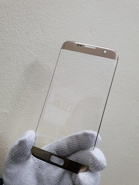 Thay mặt kính Samsung S7 Edge Hàn Gold