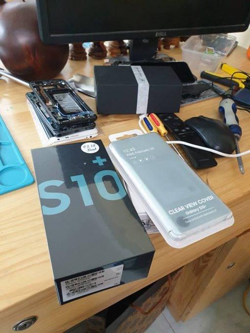 ép kính samsung s10+ ở Hà Nội