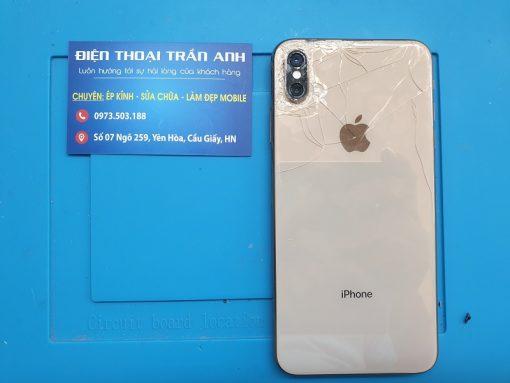 bể mặt sau iphone xs max