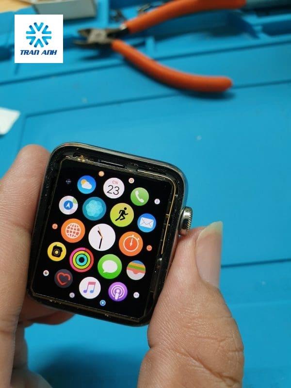 ép kính apple watch series 3 giá rẻ ở HN