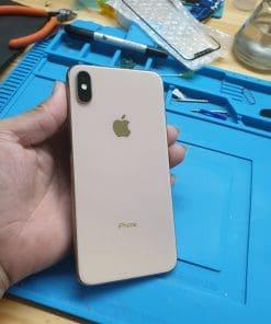 Thay mặt kính sau iPhone XS MAX đẹp như mới